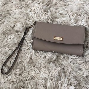 Kate Spade wristlet wallet. With phone pouch.